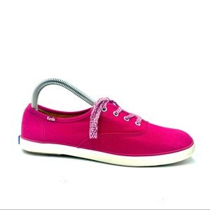 Keds Women's Pink Athletic Walking Shoes, Size  8
